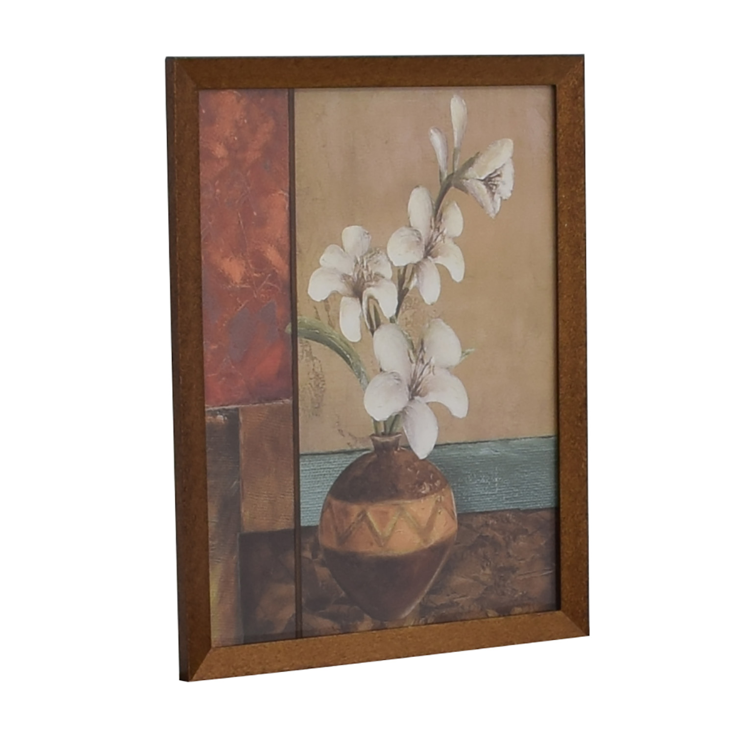 Floral Framed Wall Art used