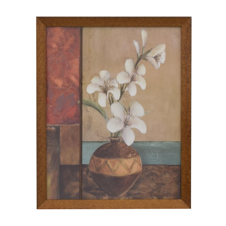 Floral Framed Wall Art discount