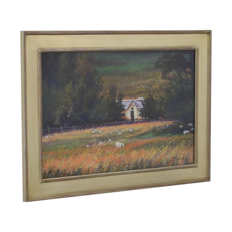 Dean Walker A Touch of Ireland Framed Wall Art / Decor