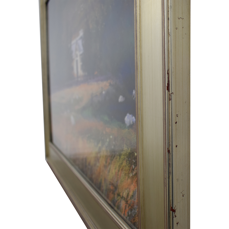Dean Walker A Touch of Ireland Framed Wall Art nj