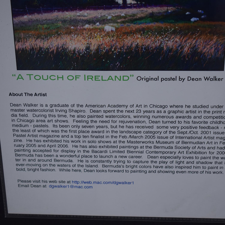 Dean Walker A Touch of Ireland Framed Wall Art Decor