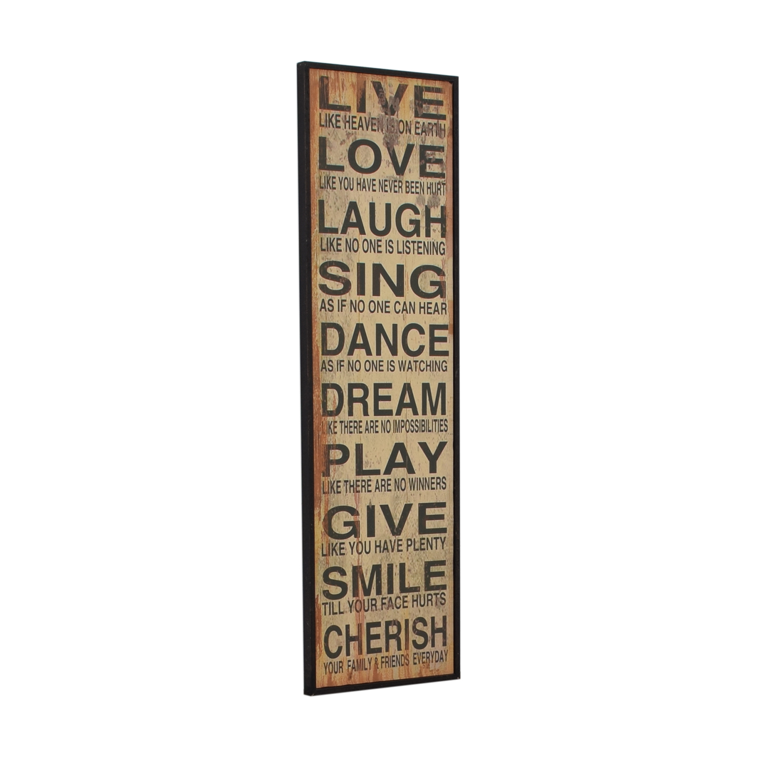 Words of Life Framed Wall Art price