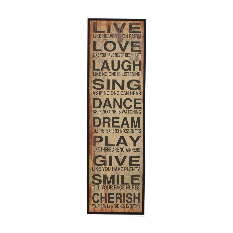 Words of Life Framed Wall Art nj