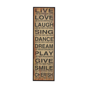 Words of Life Framed Wall Art for sale