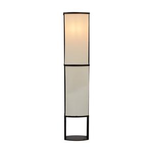 Black and Cream Floor Lamp discount