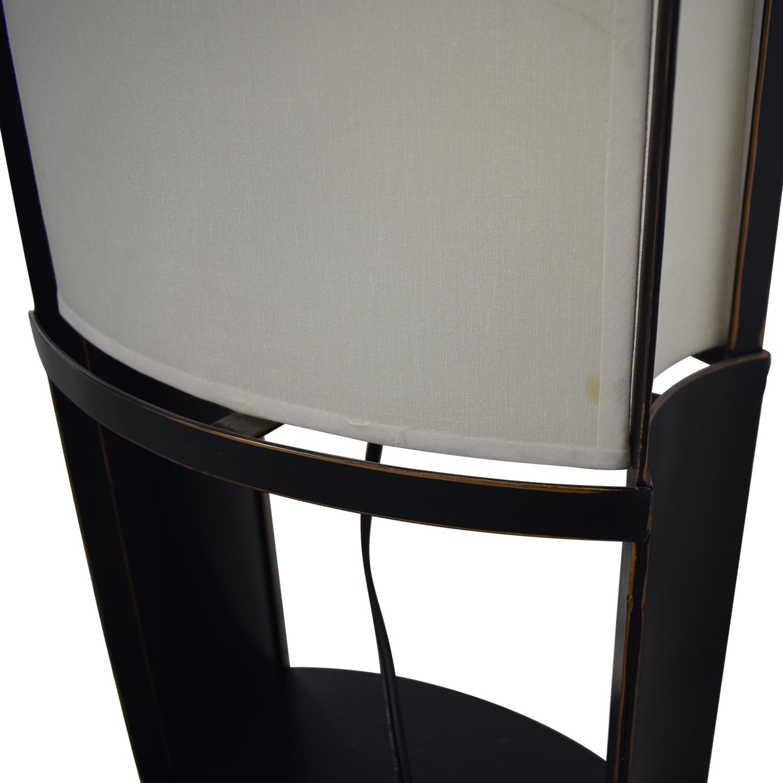 buy  Black and Cream Floor Lamp online