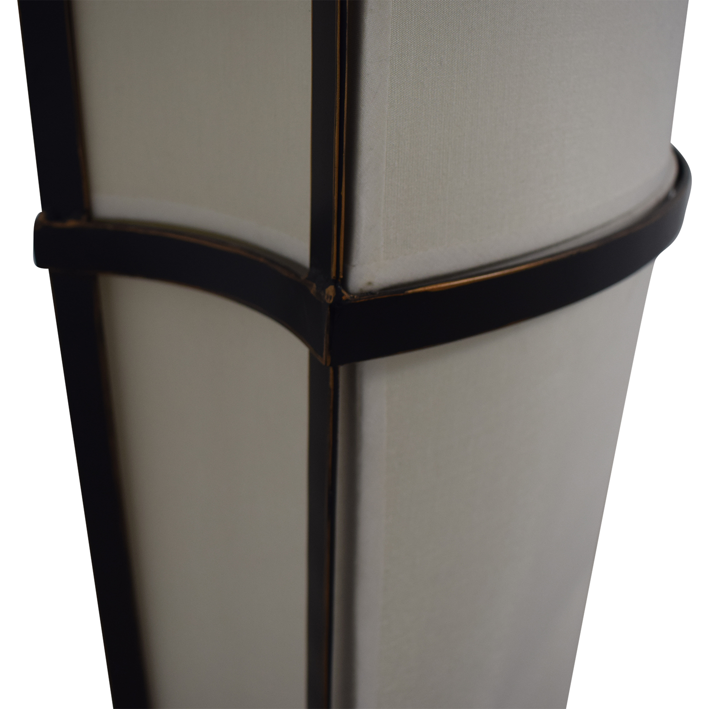Black and Cream Floor Lamp second hand