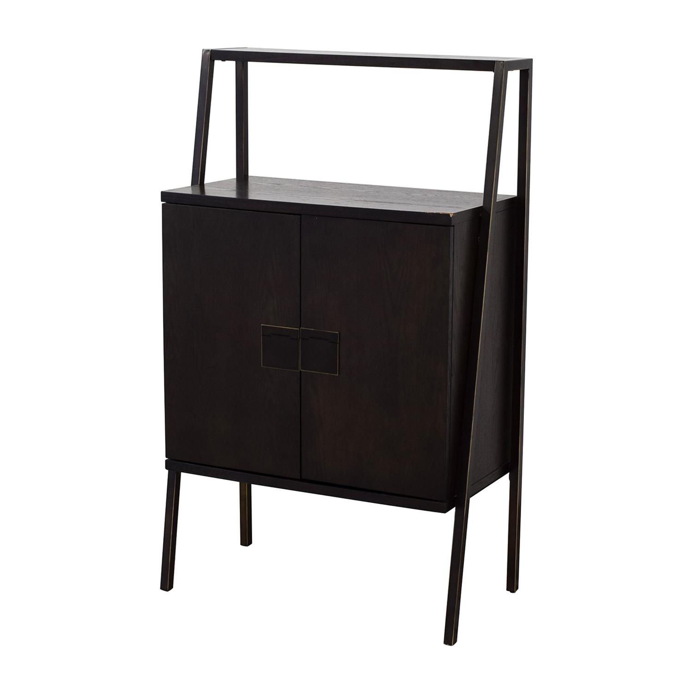 buy West Elm West Elm Wood Bar Cabinet online