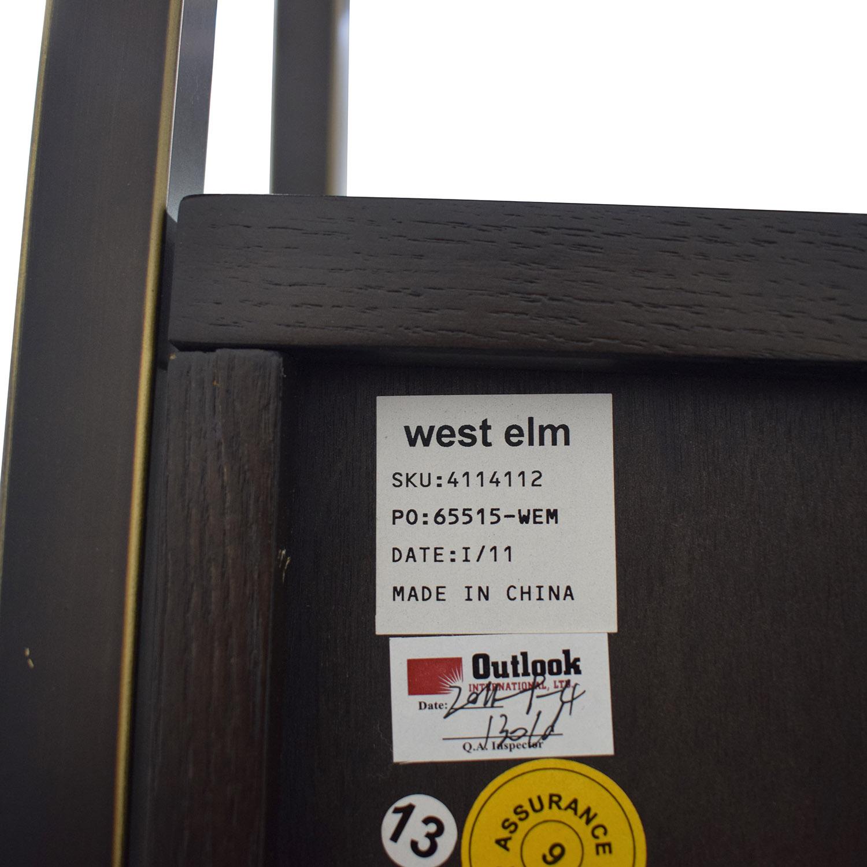 West Elm West Elm Wood Bar Cabinet nj
