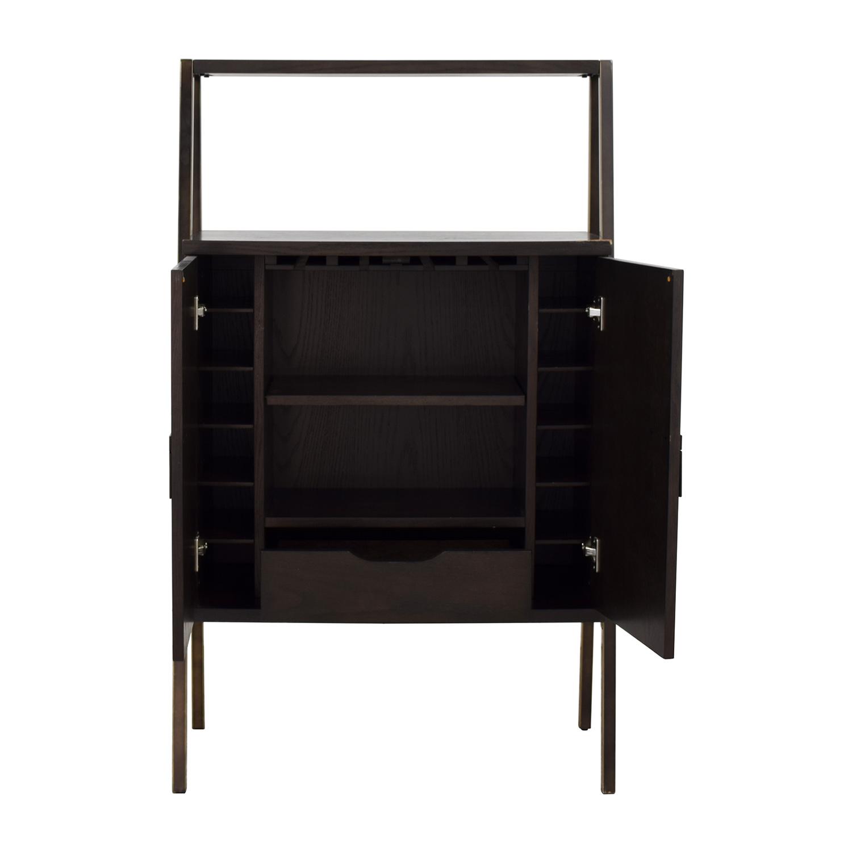 buy West Elm Wood Bar Cabinet West Elm Tables