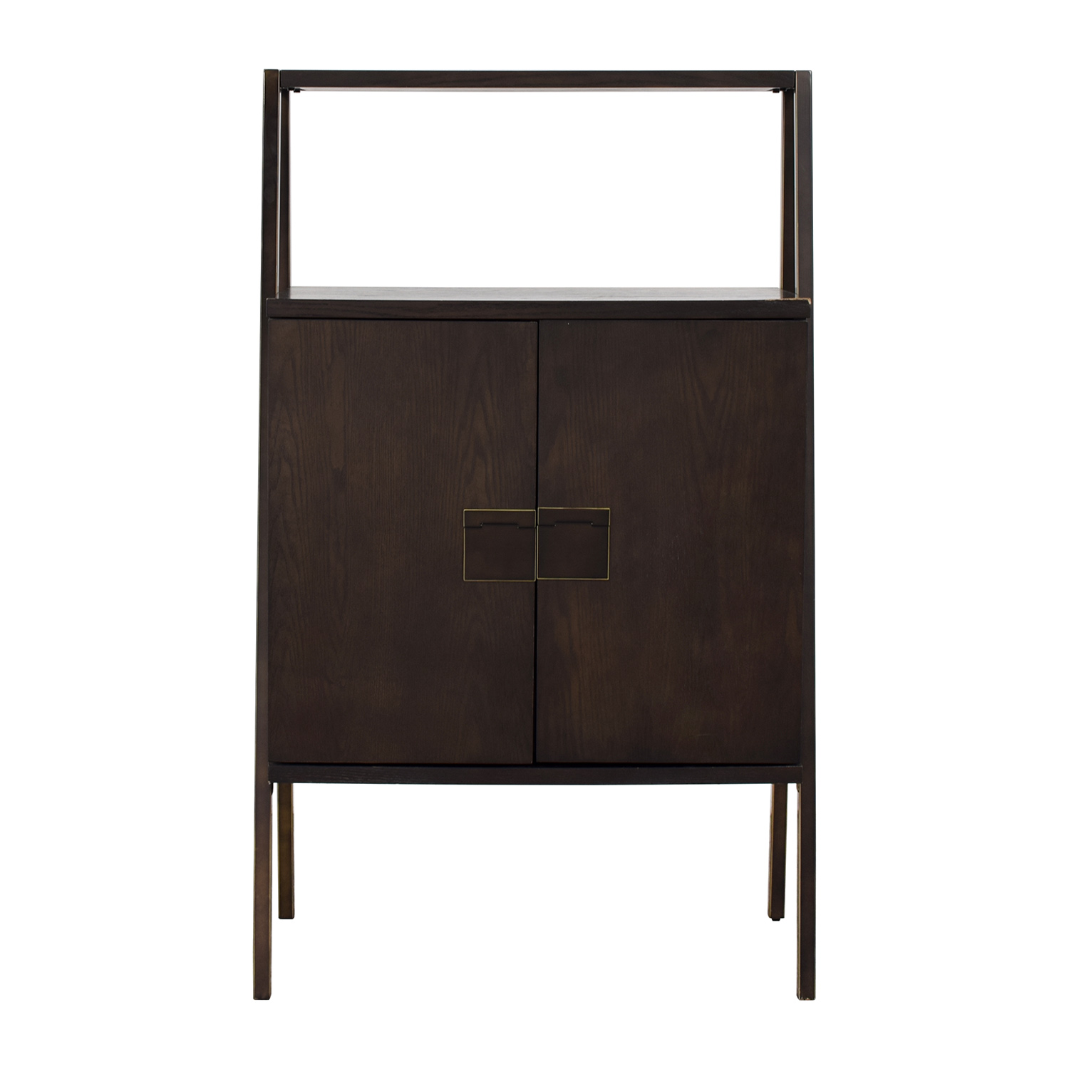 West Elm West Elm Wood Bar Cabinet for sale