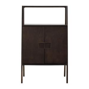 West Elm West Elm Wood Bar Cabinet dimensions