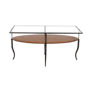 Glass Topped Coffee Table discount