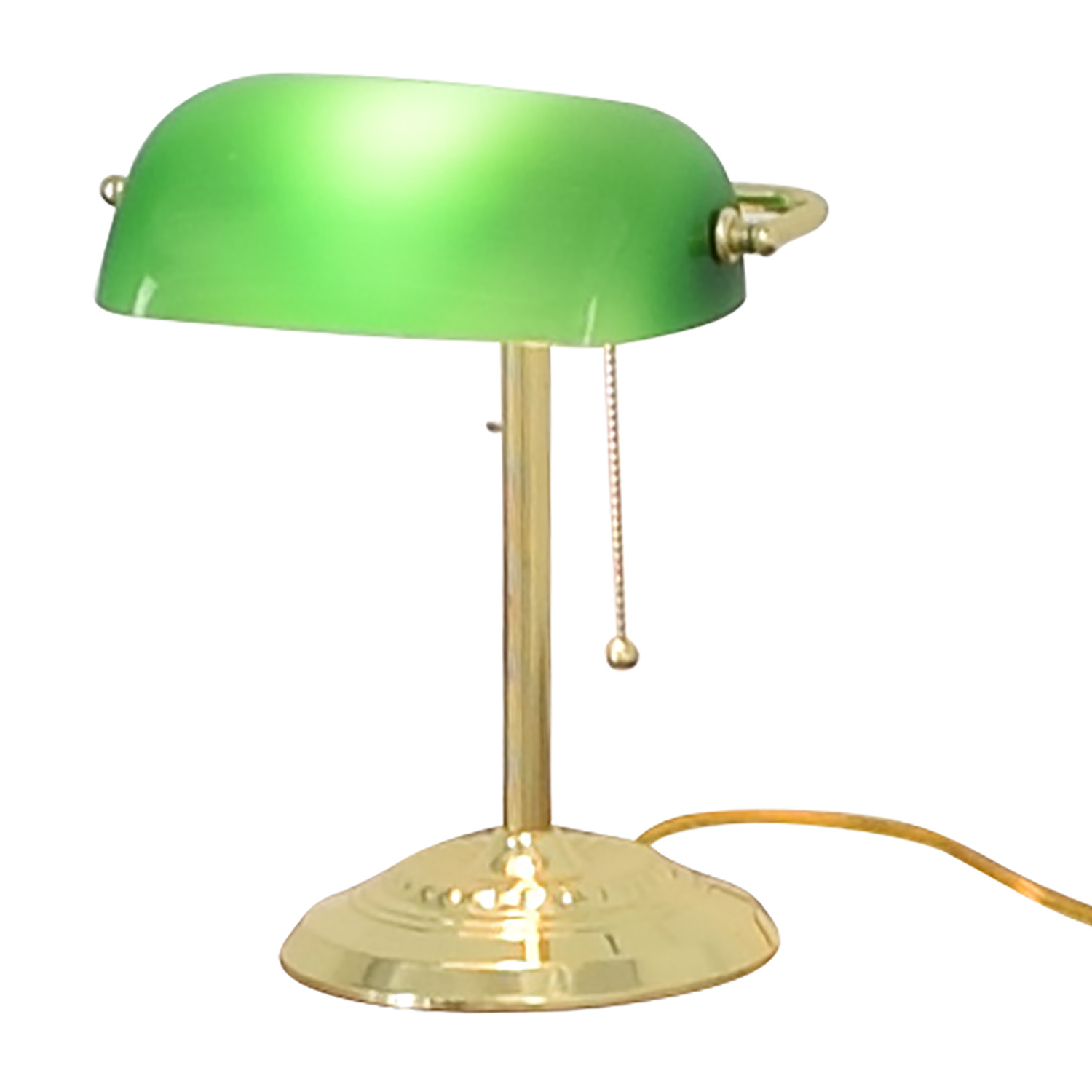 shop Green and Gold Desk Lamp  Decor