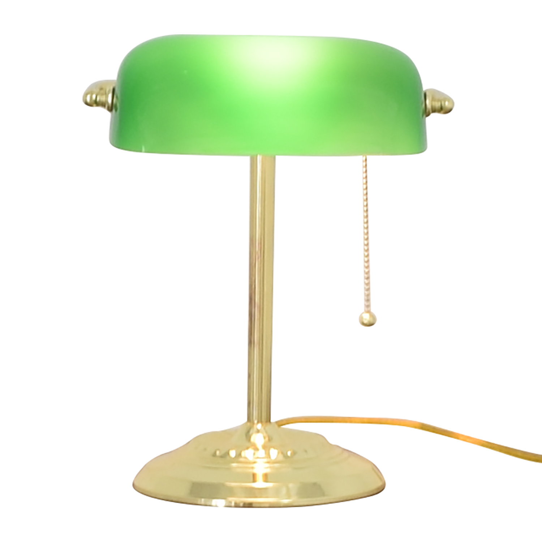 shop  Green and Gold Desk Lamp online