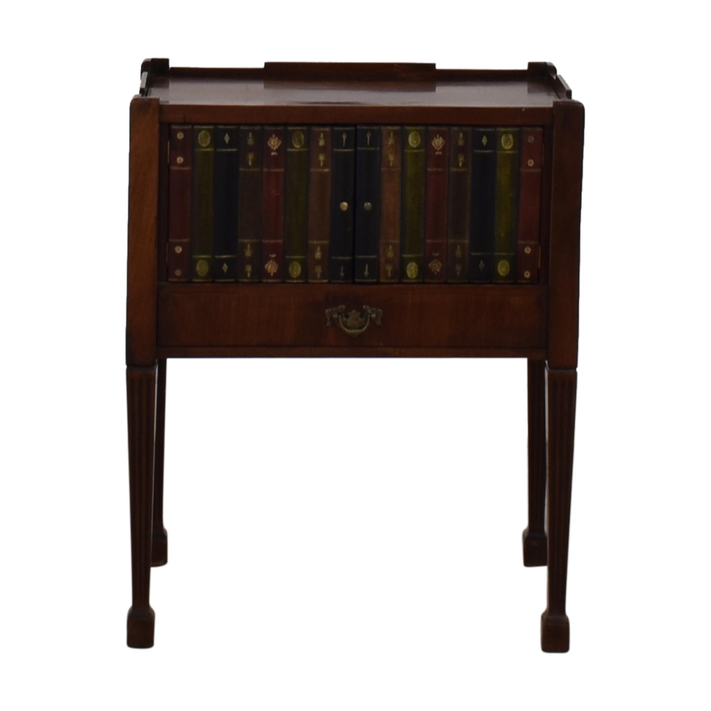 Vintage End Table brown