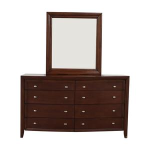 shop Casana Furniture Casana Furniture Eight-Drawer Dresser with Mirror online