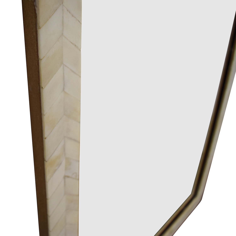West Elm West Elm Bone Inlay Wall Mirror on sale