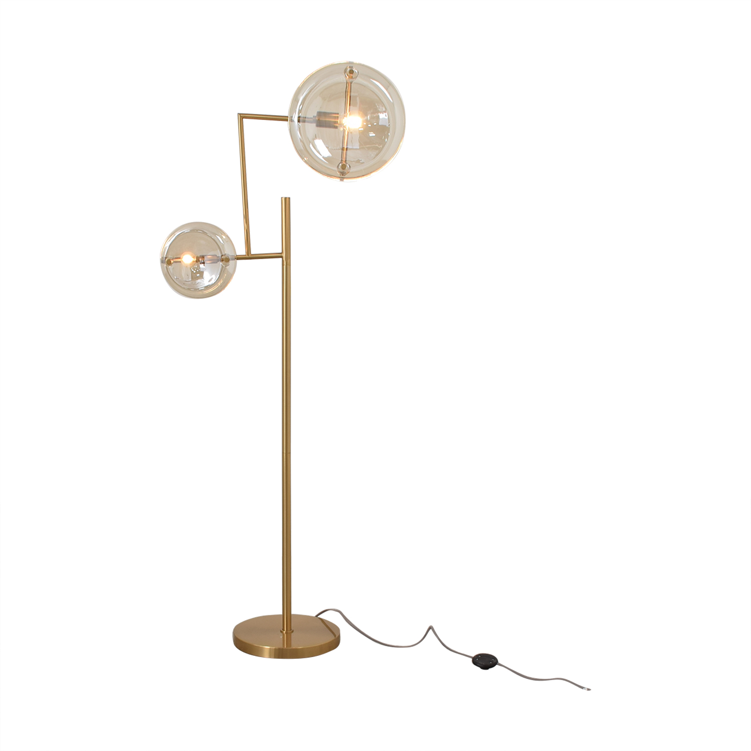 shop West Elm Bower Brass Floor Lamp West Elm Decor