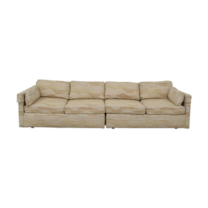 Drexel Drexel Multi-Colored Beige Four-Cushion Sofa coupon
