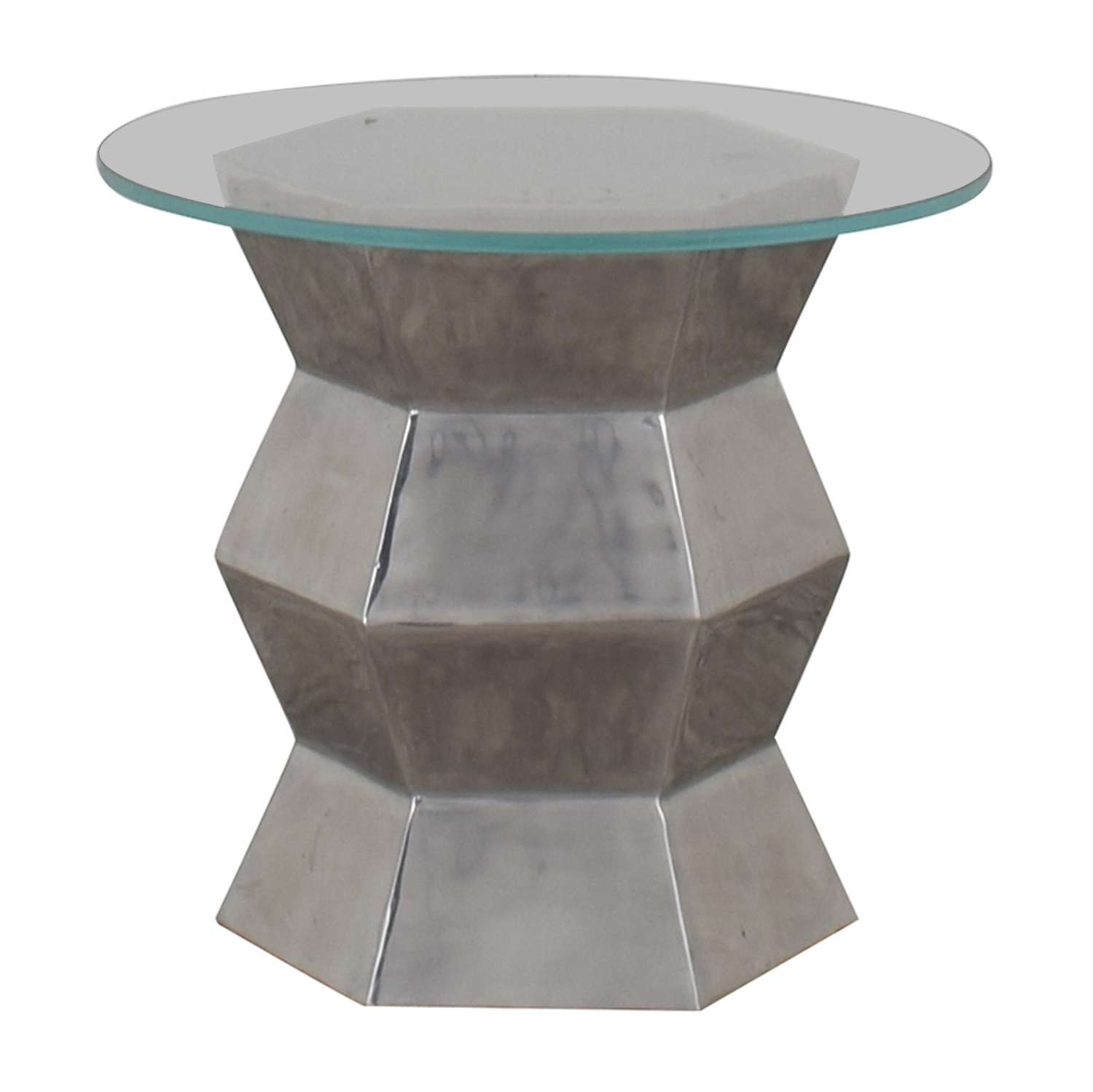 Glass End Table price