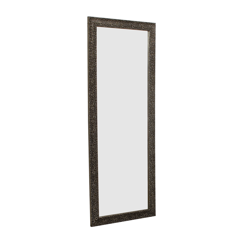 Decorative Accent Mirror tan