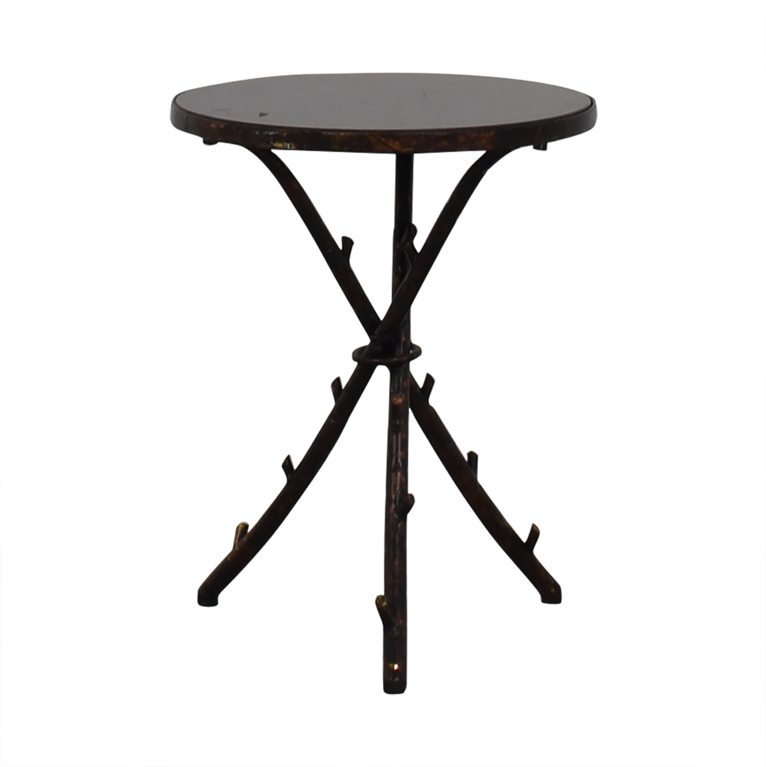 Rustic Accent Table used