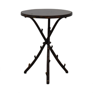 Rustic Accent Table price