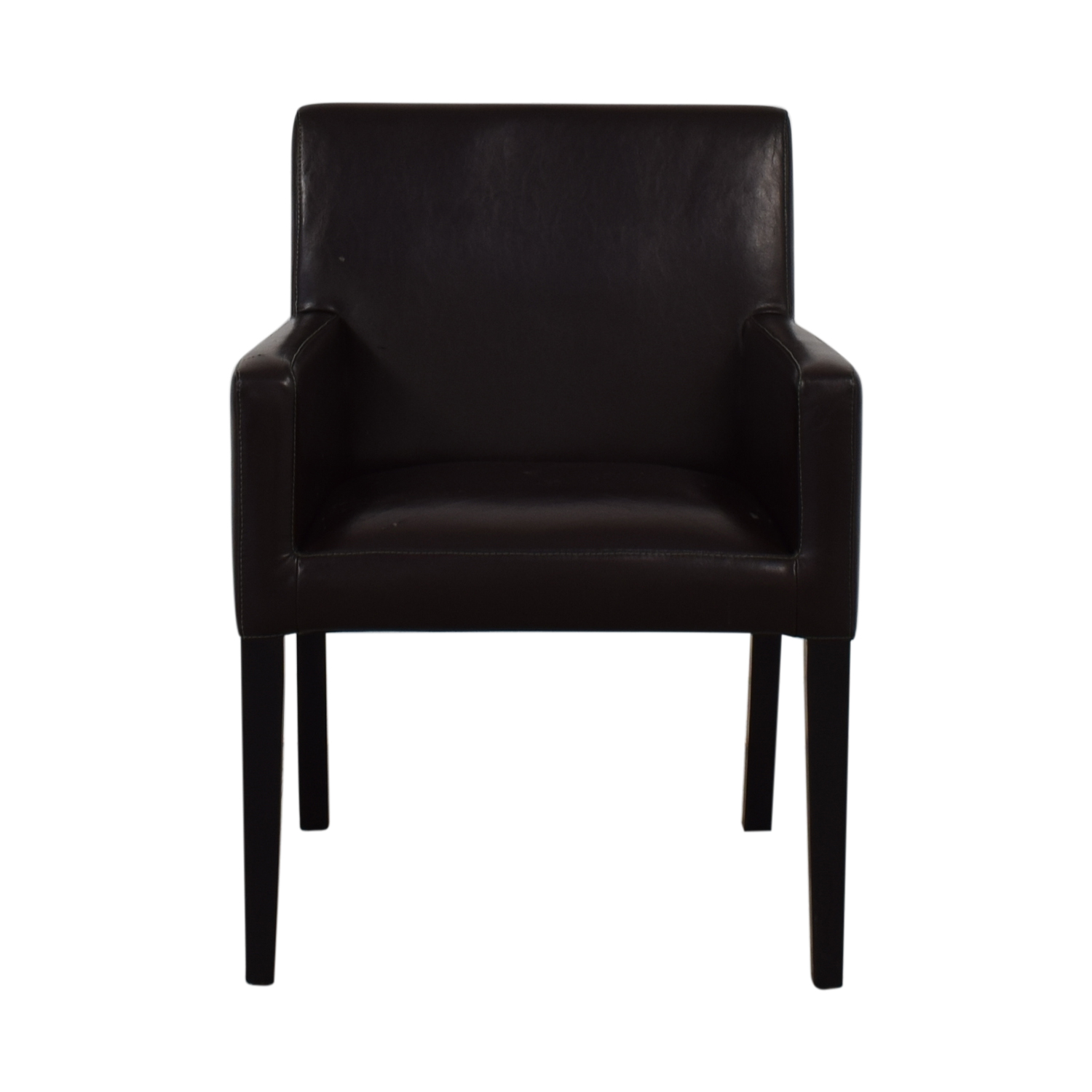 buy Crate & Barrel Brown Accent Chair Crate & Barrel Accent Chairs