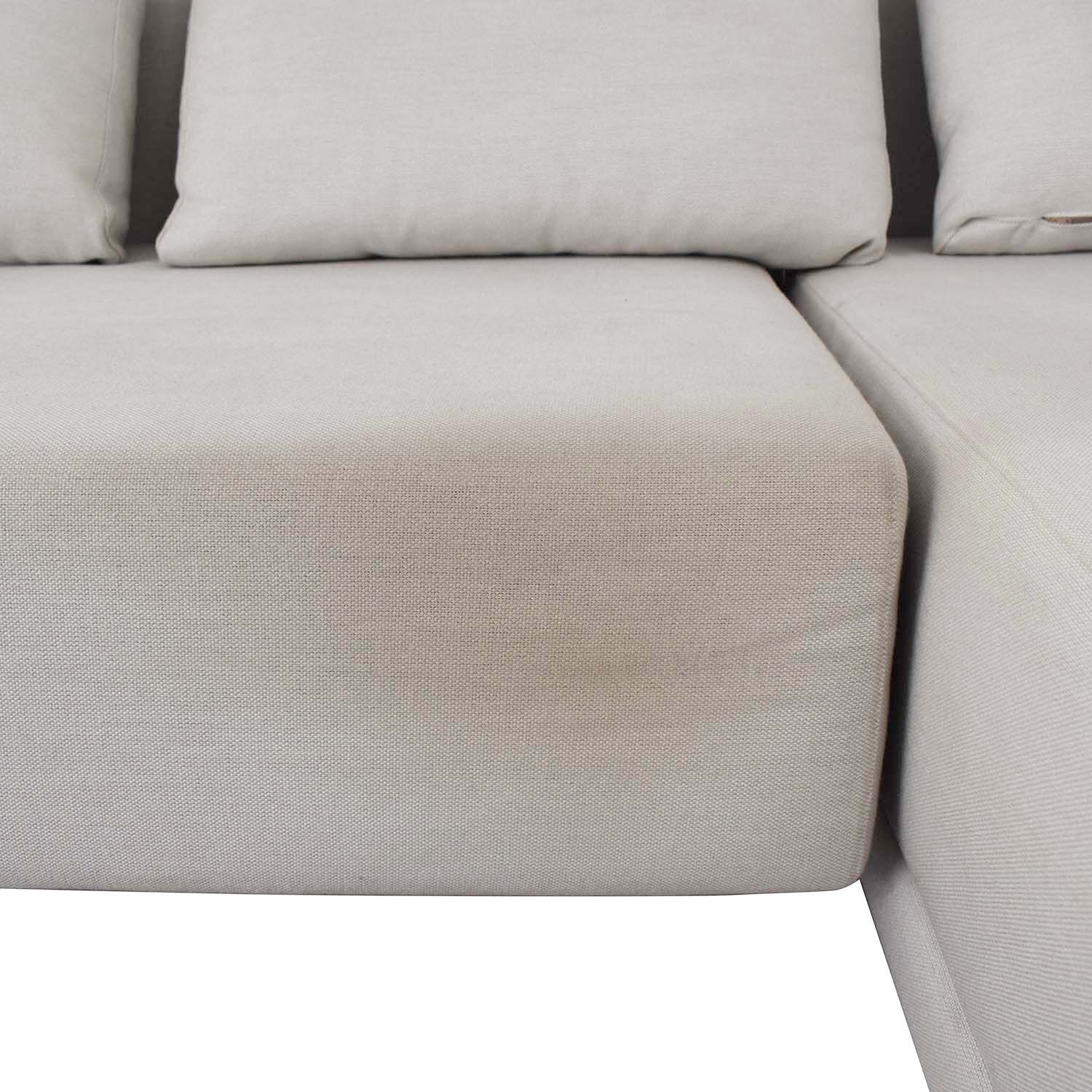 shop Viccarbe White Sectional Viccarbe Sofas
