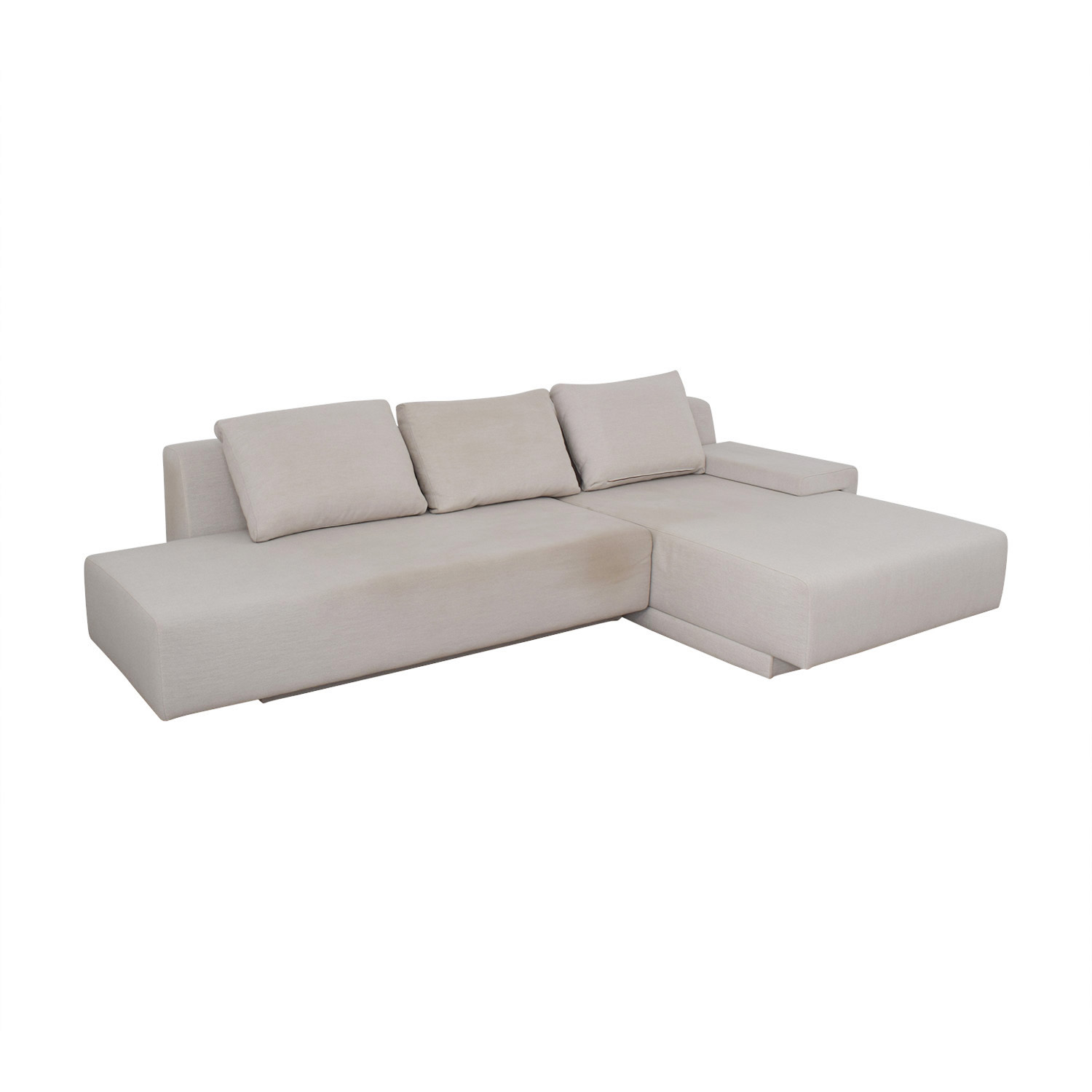 Viccarbe Viccarbe White Sectional white