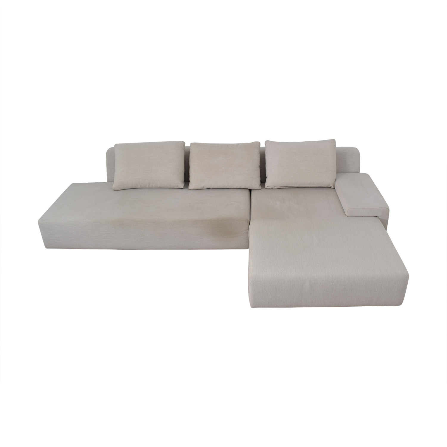 Viccarbe Viccarbe White Sectional used