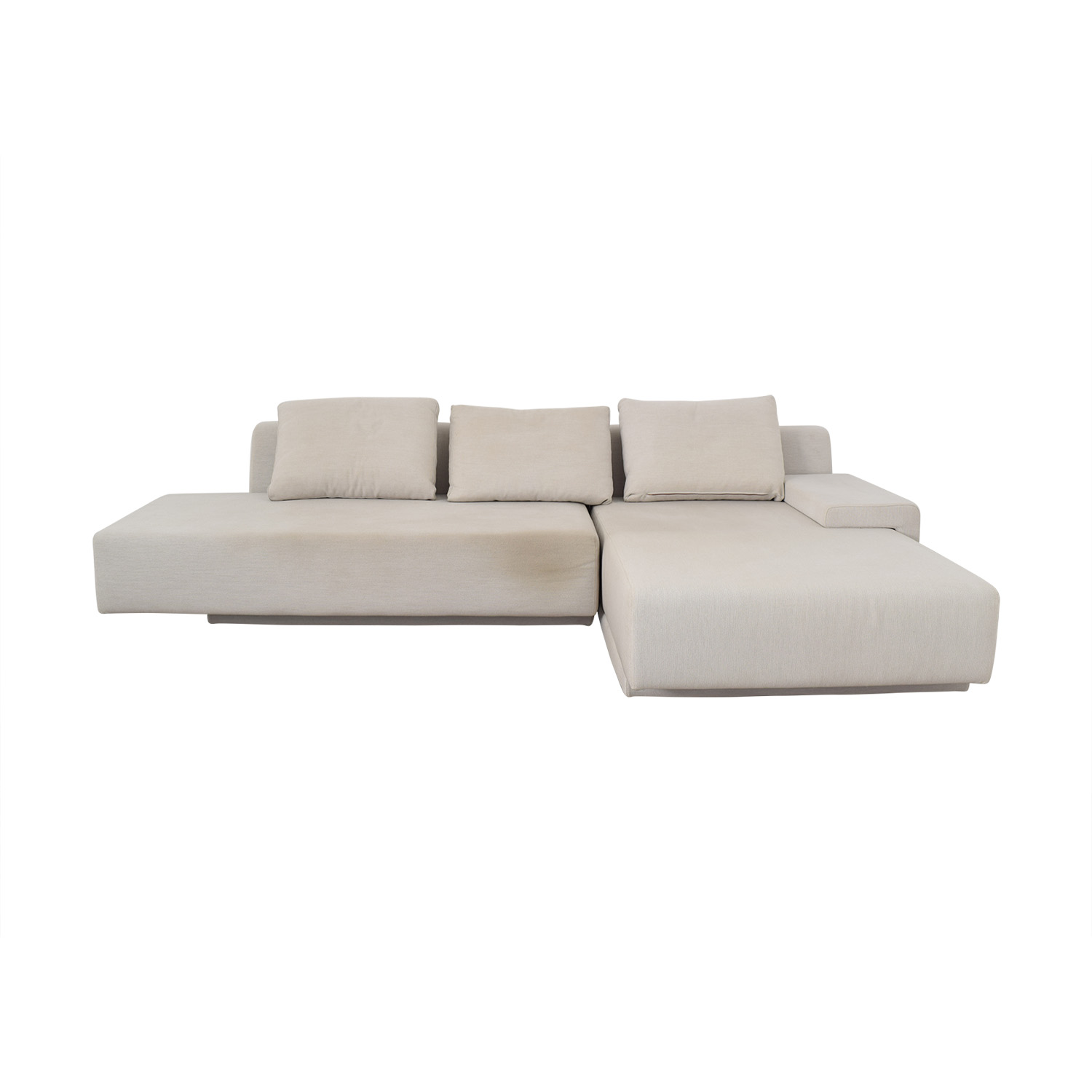 Viccarbe Viccarbe White Sectional discount