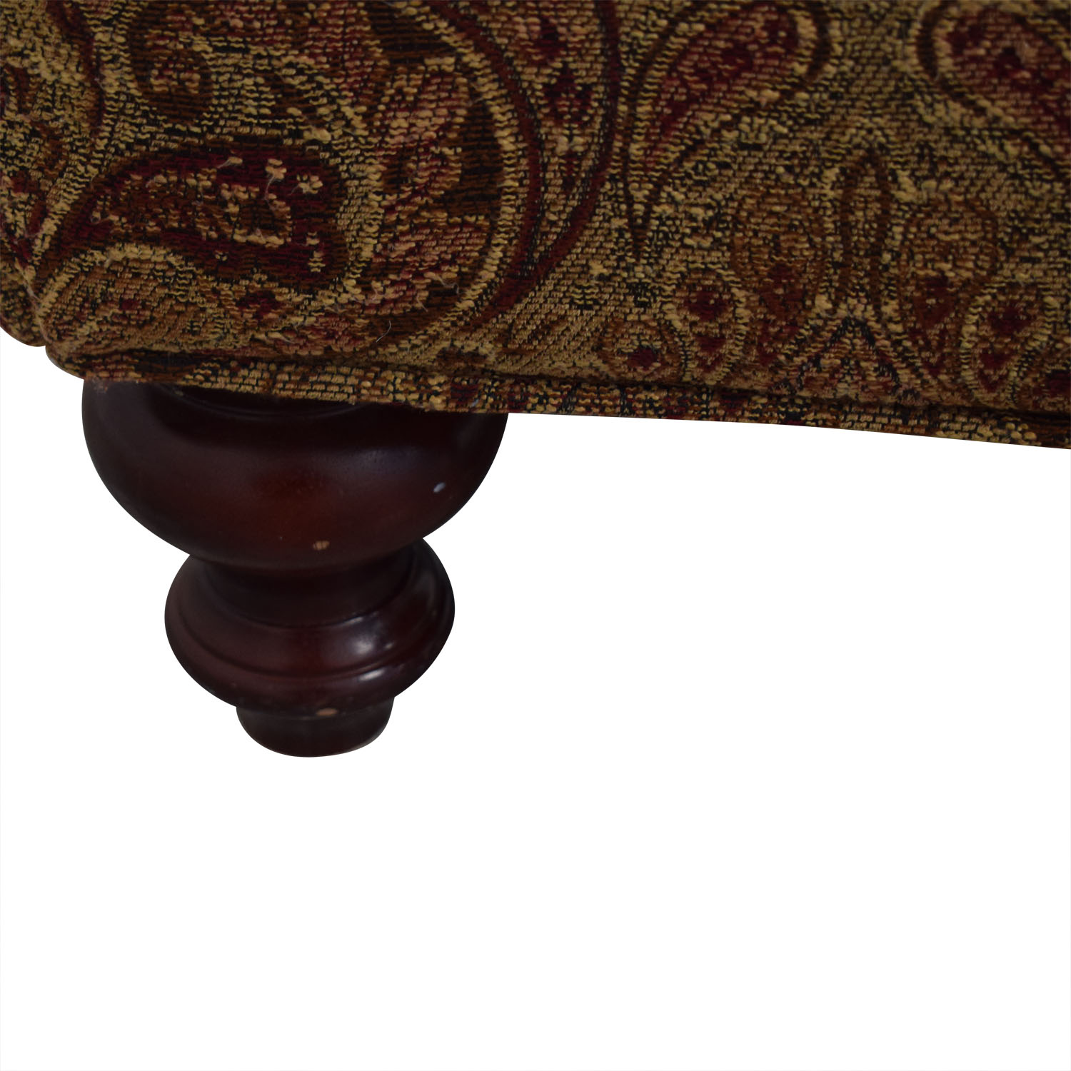 Upholstered Ottoman MULTI COLOR