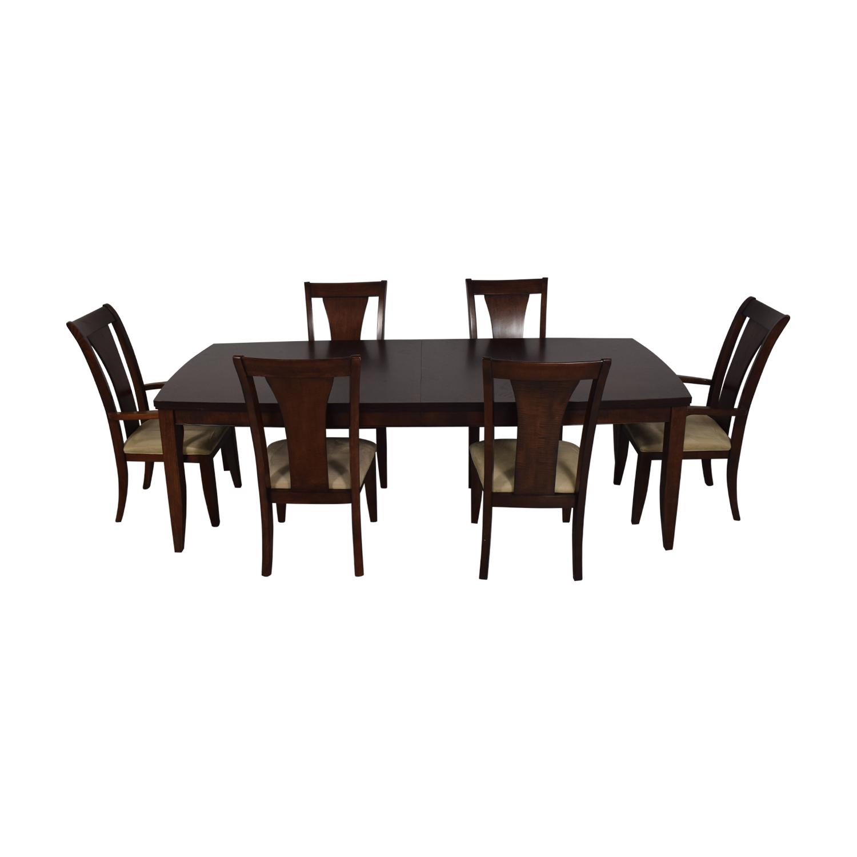 Macy's Macy's Wood Extentable Dining Set nj
