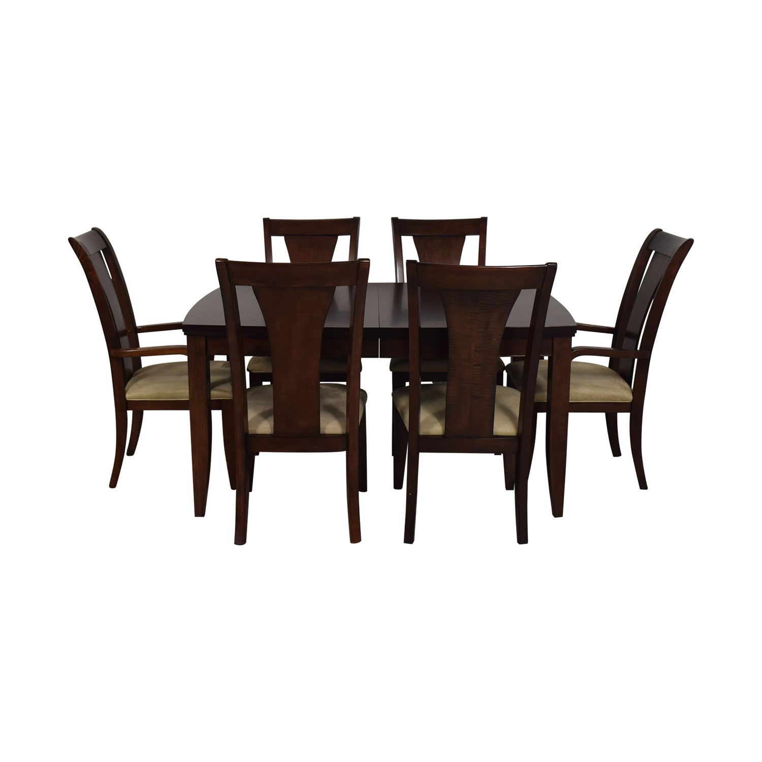shop Macy's Wood Extentable Dining Set Macy's