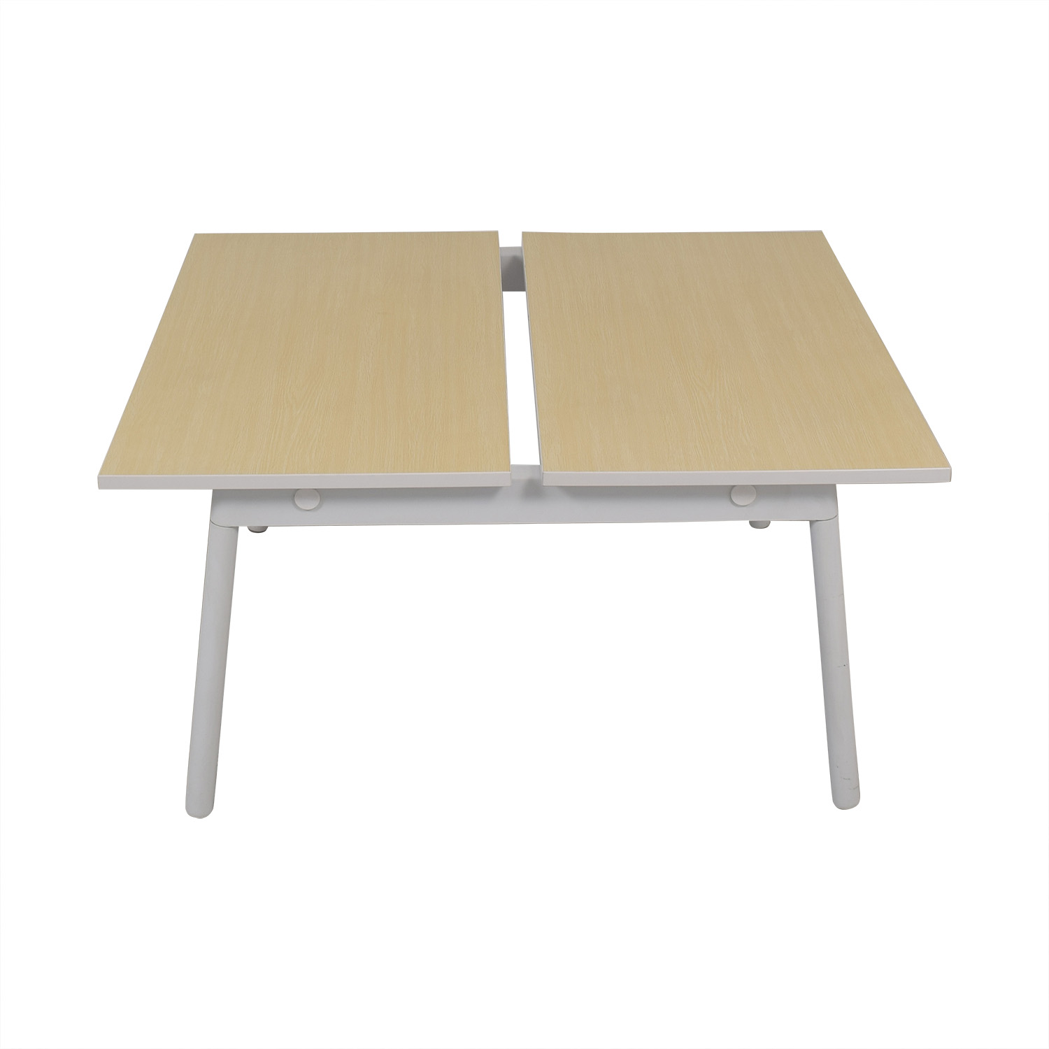 Poppin Series A Double Desk sale