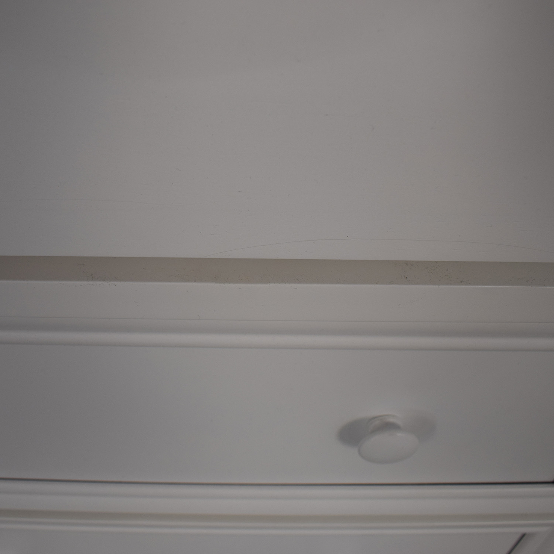 shop White Nine Drawer Loft Full Bed
