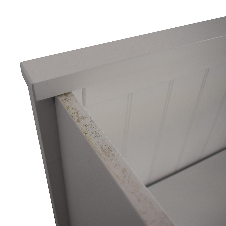 buy  White Nine Drawer Loft Full Bed online