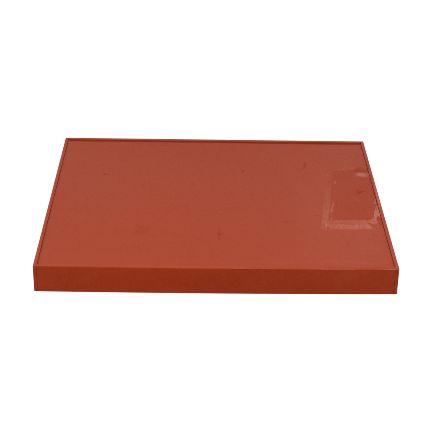 shop Sergio Brioschi Orange Low Coffee Table  Tables