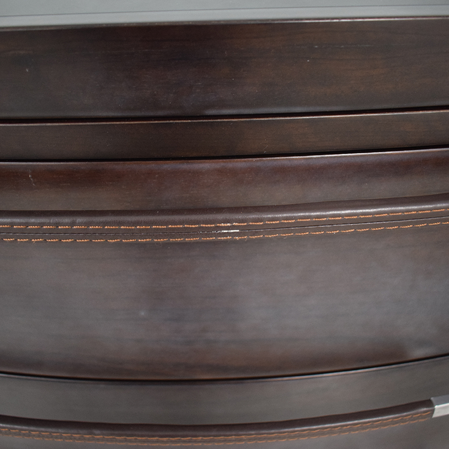 Maurice Villency Maurice Villency Oval Elliptical Chest of Drawers used