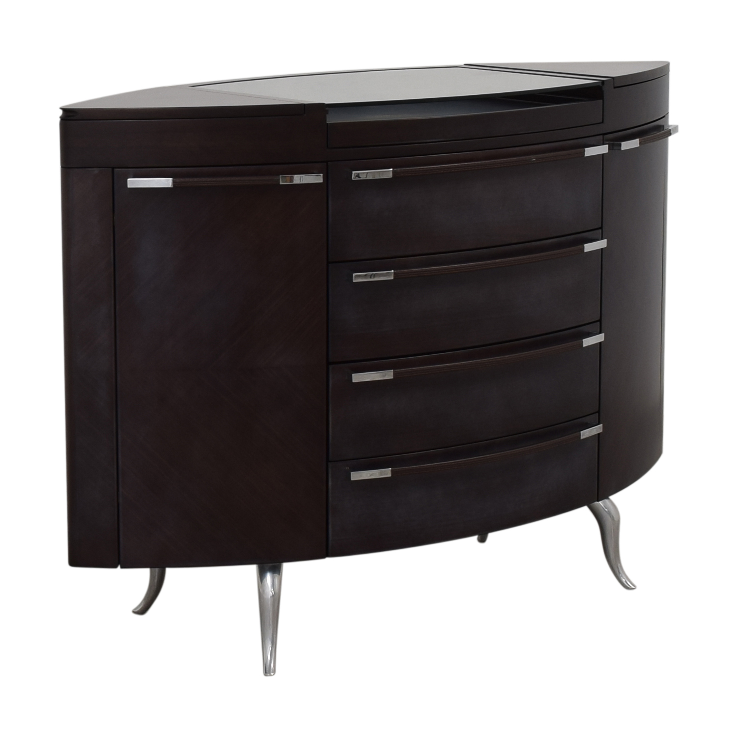 Maurice Villency Maurice Villency Oval Elliptical Chest of Drawers nj