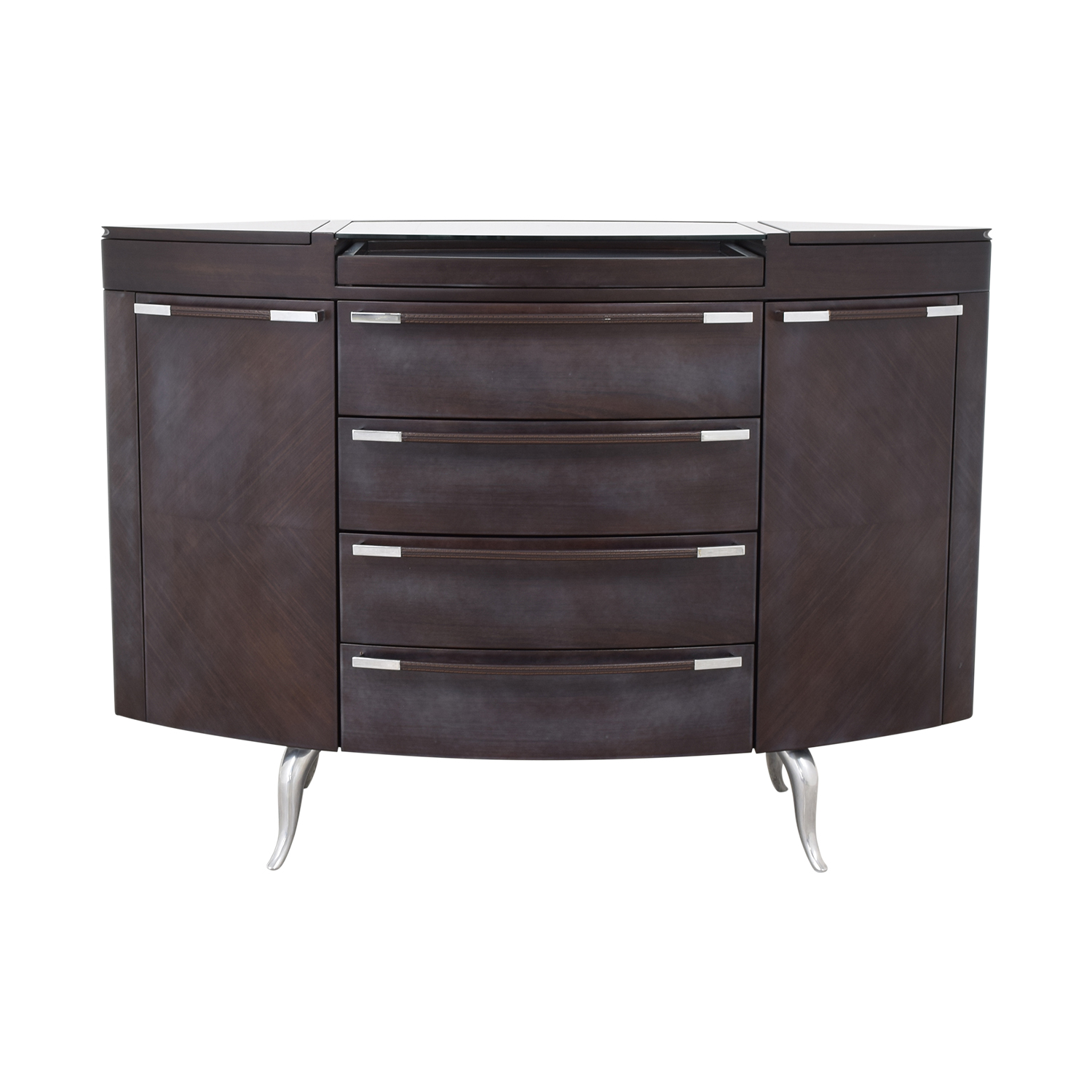 Maurice Villency Oval Elliptical Chest of Drawers / Dressers
