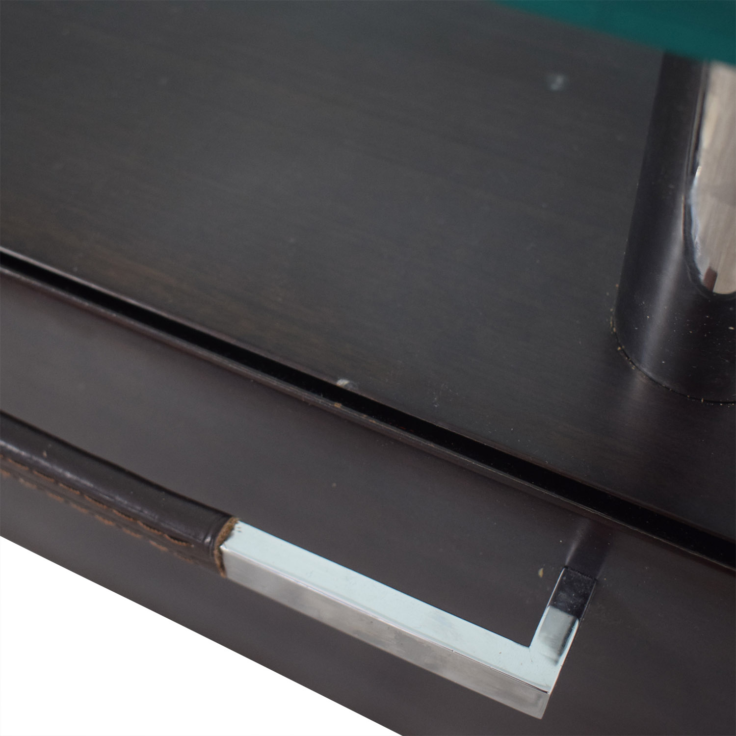 buy Chrome and Glass Nightstand  Tables