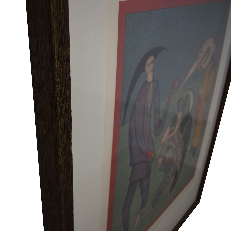 Michael Chemiakin Print Wall Art Decor