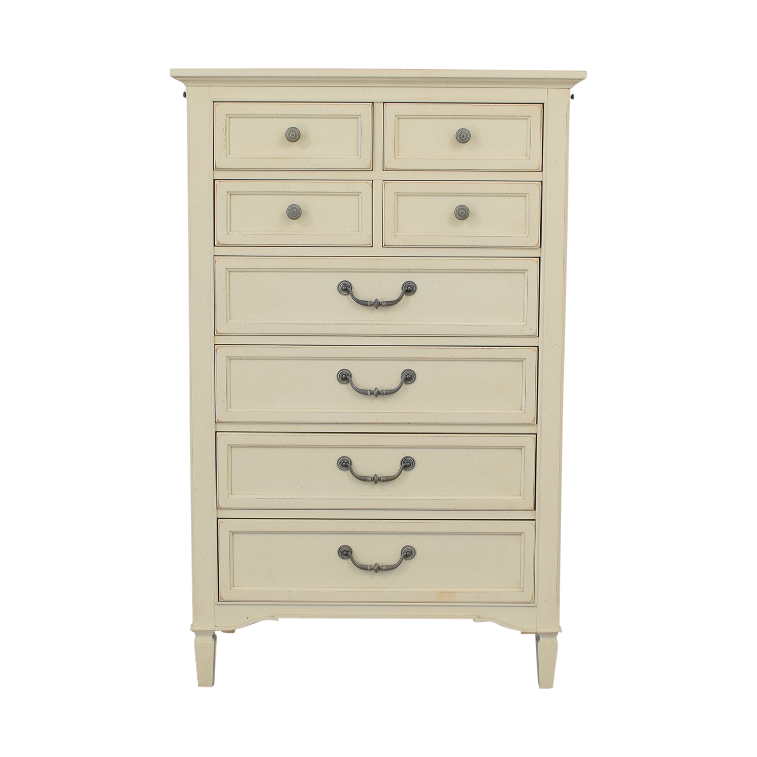 Stanley Furniture Stanley Furniture Eight-Drawer Off-White Tall Dresser coupon