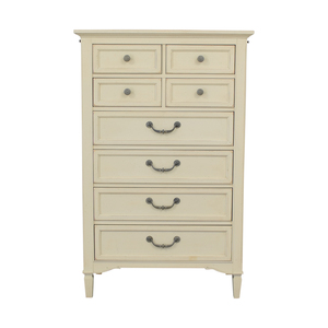 shop Stanley Furniture Eight-Drawer Off-White Tall Dresser Stanley Furniture