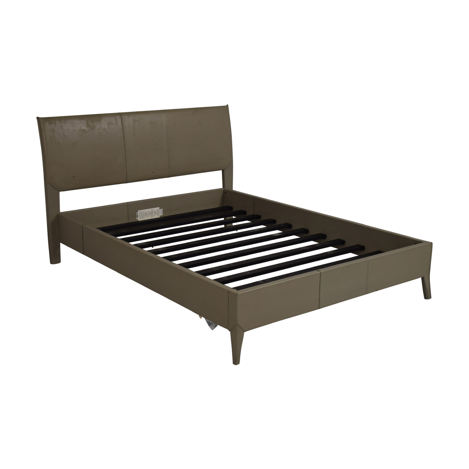 Crate & Barrel Crate & Barrel Grey Full Bed nyc