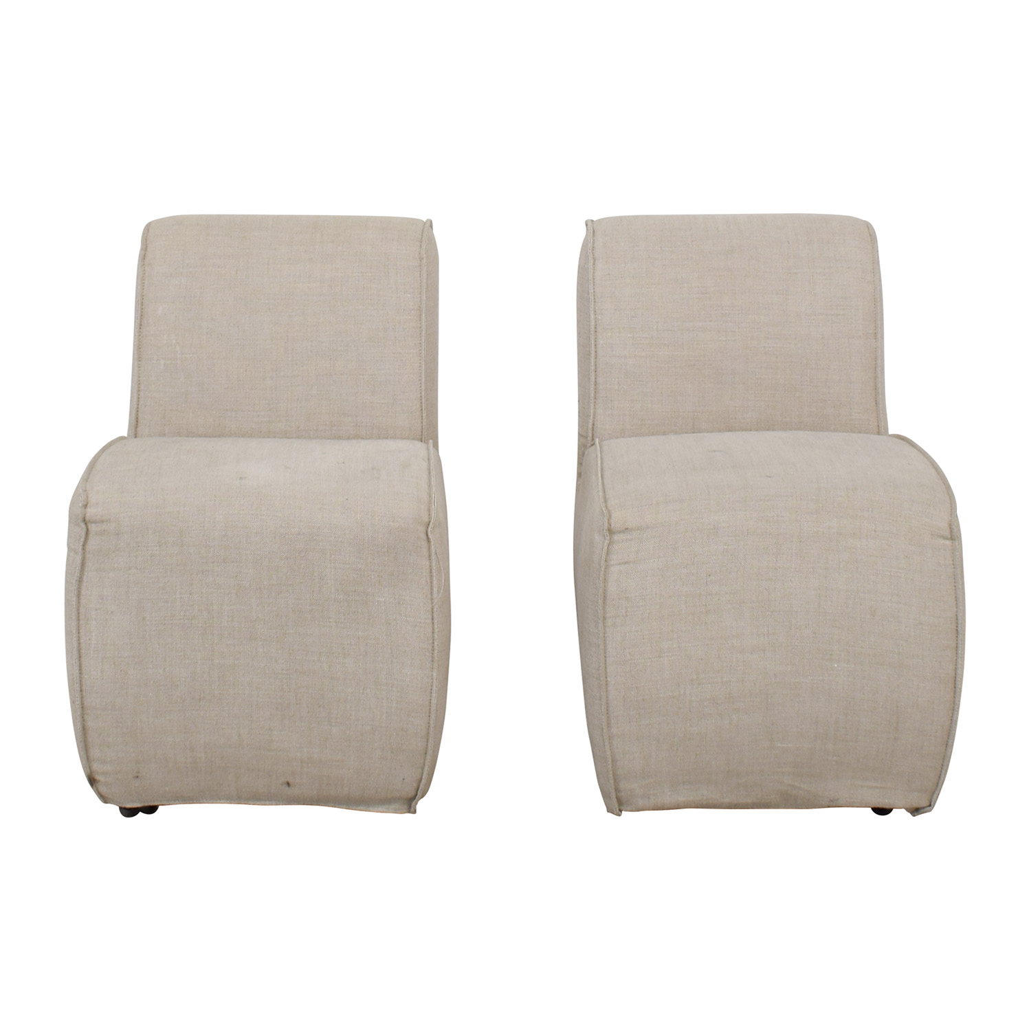 shop Eichholtz Grey Upholstered Dining Chairs Eichholtz