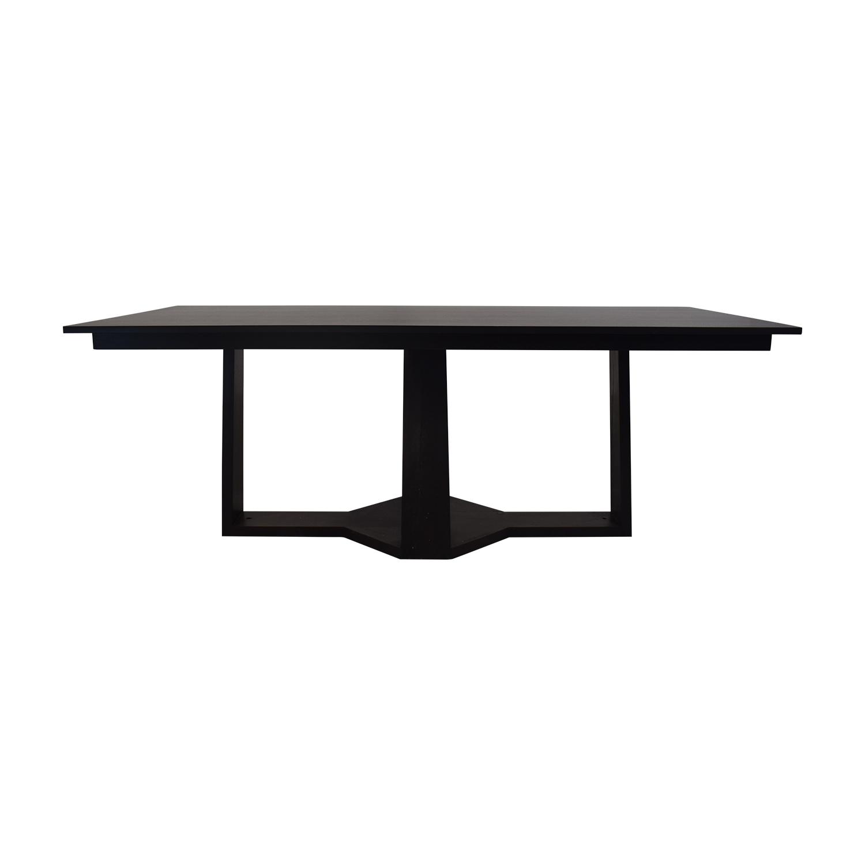 Custom Dining Table in European Walnut Veneer on sale